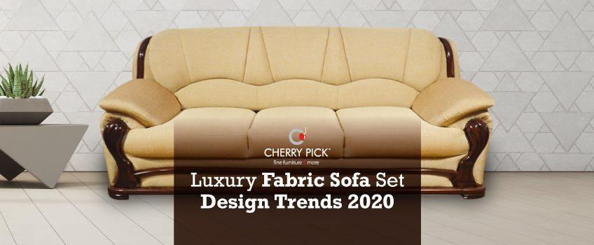 luxury fabric sofa set design furniture