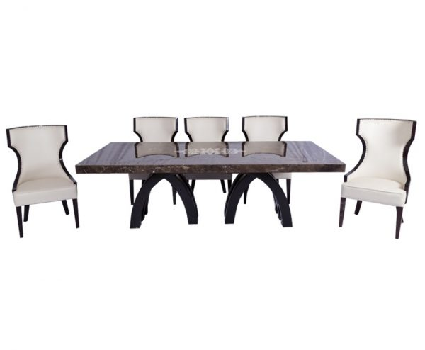 Olivia Dining Table For Dining Room Furniture From CherryPick India Furniture Store In Bangalore Koramangala