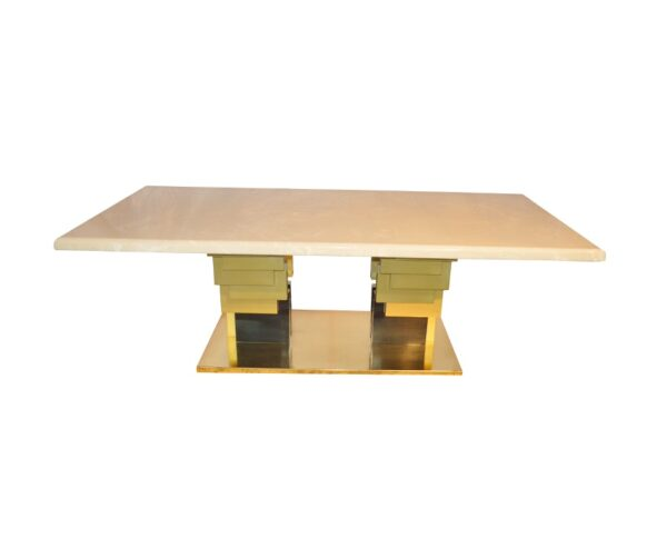 onyx zig zag dining table