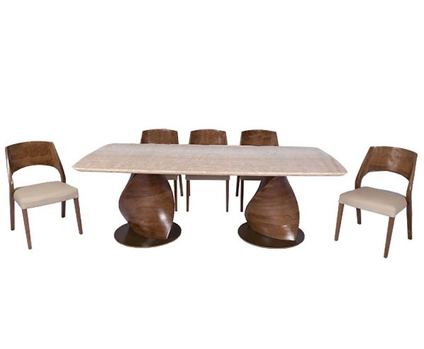 Twister Dining Table For Dining Room Furniture From CherryPick India Furniture Store In Bangalore Koramangala