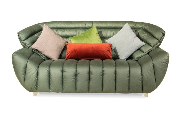 Charm Five Seater Fabric Sofa for Living Room Furnitures from Cherrypick India Store in Bangalore Koramangala