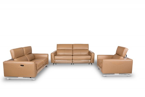 Meagan Leather Sofa for Living Room Furniture from Cherrypick India Furniture Store in Koramangala Bangalore