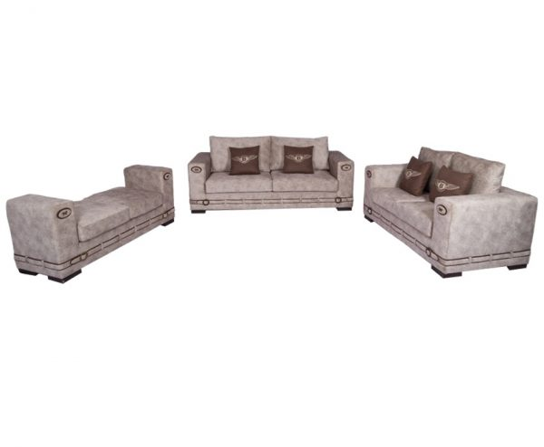 Montana Seven Seater Fabric Sofa for Living Room Furnitures from Cherrypick India Store in Bangalore Koramangala