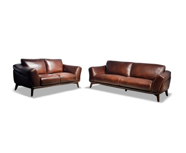 Romarin Leather Sofa for Living Room Furniture from Cherrypick India Furniture Store in Bangalore Koramangala