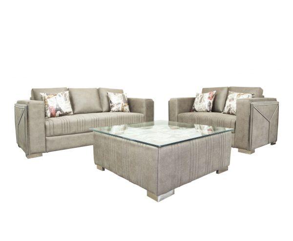 Tulip 5 Seater Fabric Sofa