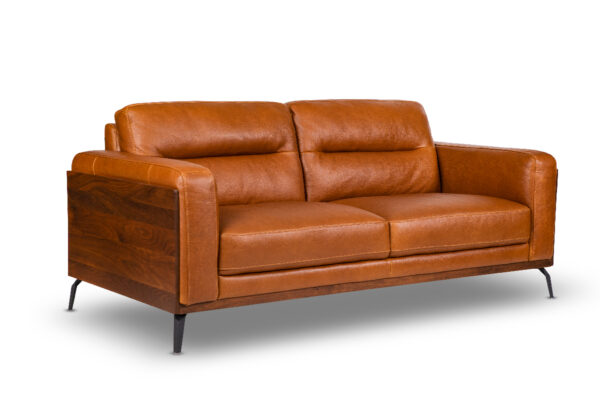 Derry Leather Sofa for Living Room Furniture from Cherrypick India Store in Bangalore Koramangala