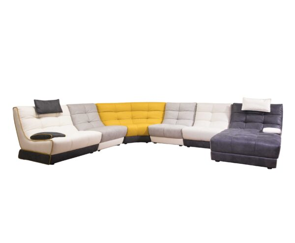 Grace Leather Sofa for Living Room Furniture from Cherrypick India Store in Bangalore Koramangala