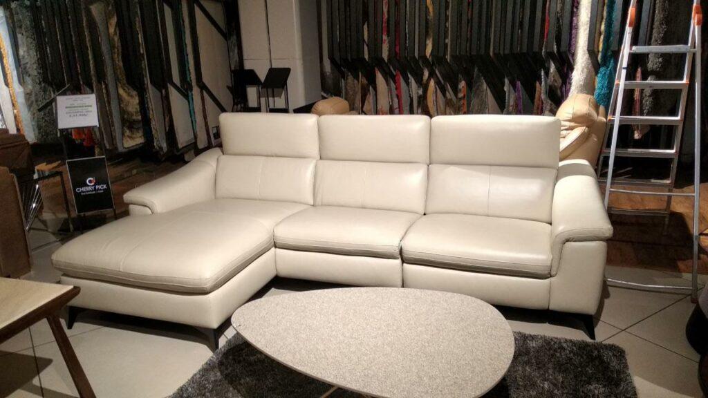 martin leather sofa