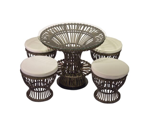 Outdoor Garden Round Seating for Living Room Furniture from Cherrypick India Furniture Store in Bangalore Koramangala