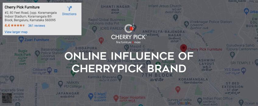 online influence of Cherrypick Brand