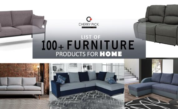 100 plus furniture list for home