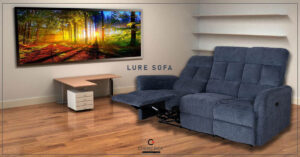 Lure - Modern Leather Sofa Set