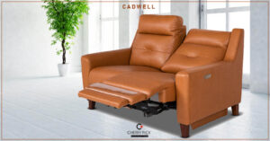Cadwell - Fabric Recliner Sofa Set